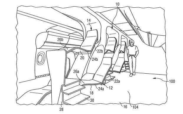 Airbus is one of several companies filing for patents for plane seating designs as plane manufacturers seek new ways to cram more passengers onto planes.