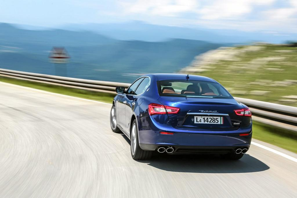 The Maserati Ghibli will be available with a new range of engines for 2016.