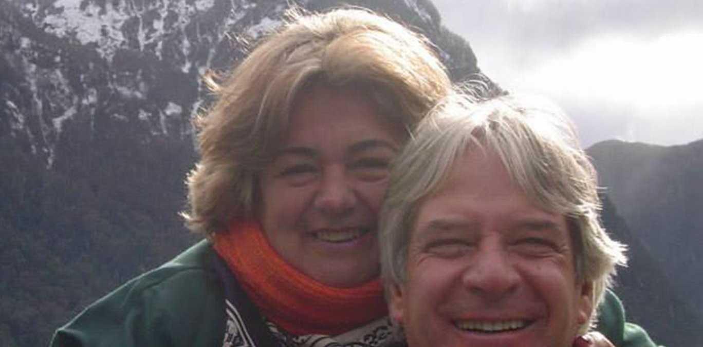 Regina Murmura and her husband Francisco. Regina was fatally shot after a satnav app directed her and her husband to a notorious Brazilian slum.