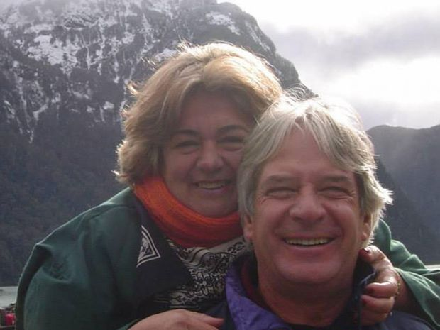 Regina Murmura and her husband Francisco. Regina was fatally shot after a satnav app directed her and her husband to a notorious Brazilian slum.