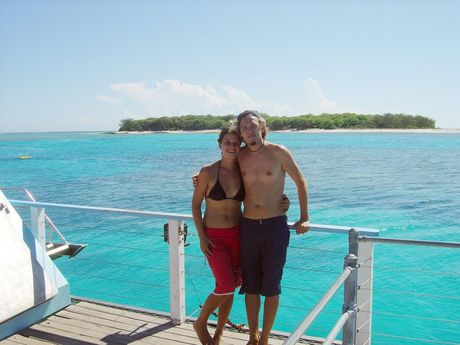File photo of Simone Strobel and Tobias Suckfuell. Simone Strobel's body was found in Lismore after a week long search.