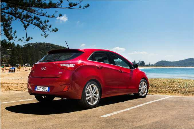 SALES SURGE: Hyundai i30 sold nearly a thousand more units in September than nearest rivals Toyota Corolla and Mazda3.