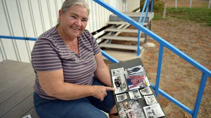 Linda Oliffe has fond memories growing up in Blackwater and wants to share them with the community. Photo Amber Hooker / CQ News