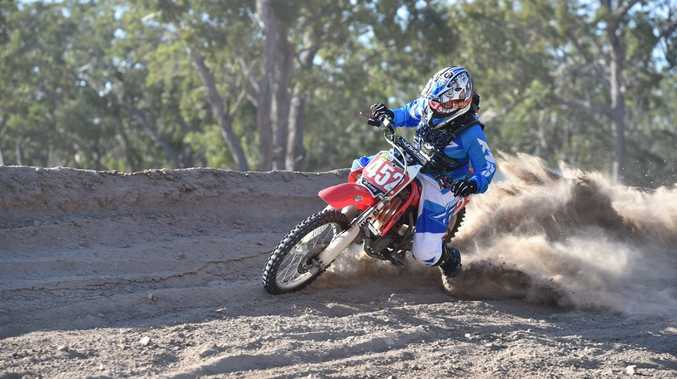 Maryborough teenager Britney Boyce has a new determination to become Australia's best motocross rider.