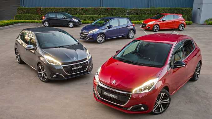 NEW RANGE: Peugeot 208 available in Access, Active, Allure, GT-Line and hot hatch GTi guises. Price starts at $15,990, tops out at $30,990.