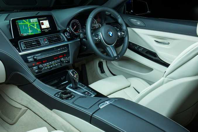 The BMW 640i Convertible.