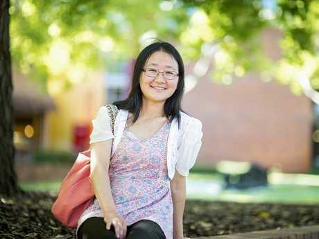 USQ nursing student Alice Chu.