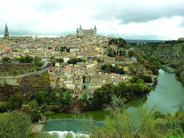 The splendour of Toledo, once the capital of Spain.