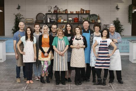 The 12 bakers competing on The Great Australian Bake Off.