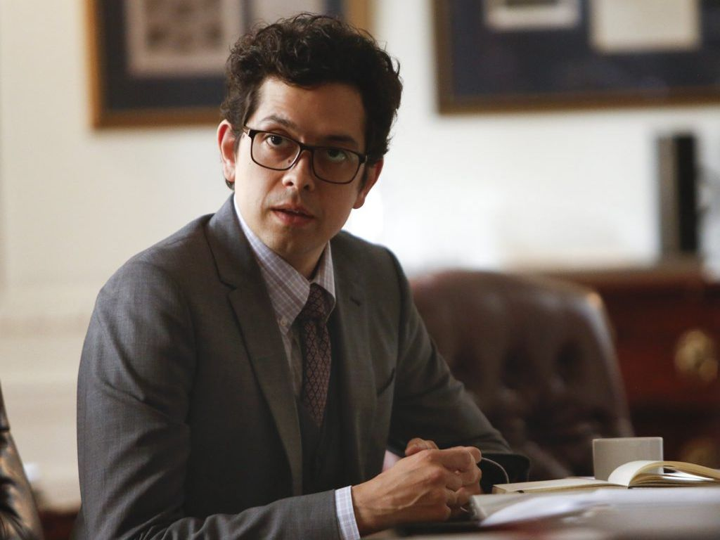 Geoffrey Arend in a scene from the TV series Madam Secretary.