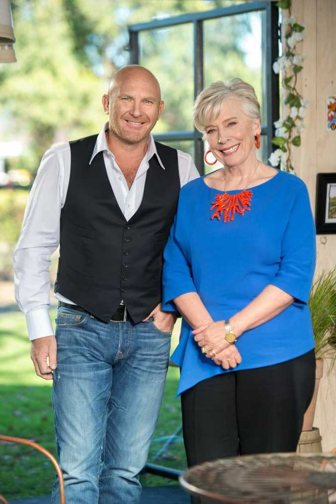 Matt Moran and Maggie Beer are judges on the new season of The Great Australian Bake Off.