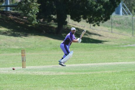 Pottsville batsman Jayden Hoare during the game against Norths at REC 9 in the Rous Hotel 16.8 cricket tournament. Photo Marc Stapelberg / The Northern Star