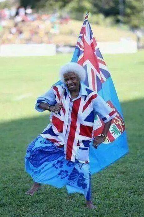 Toowoomba woman Ima Ligidamu at a rugby 7s game.