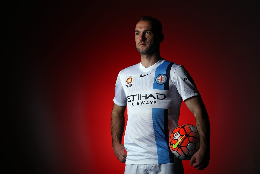 MELBOURNE, AUSTRALIA - SEPTEMBER 22: Ivan Franjic of Melbourne City poses during the Melbourne City FC A-League team photo session at City Football Academy on September 22, 2015 in Melbourne, Australia. (Photo by Robert Cianflone/Getty Images)