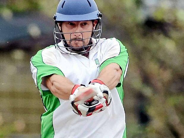MAIN MAN: New captain Andrew Lindsay batting for Lennox Headin the LJ Hooker League.