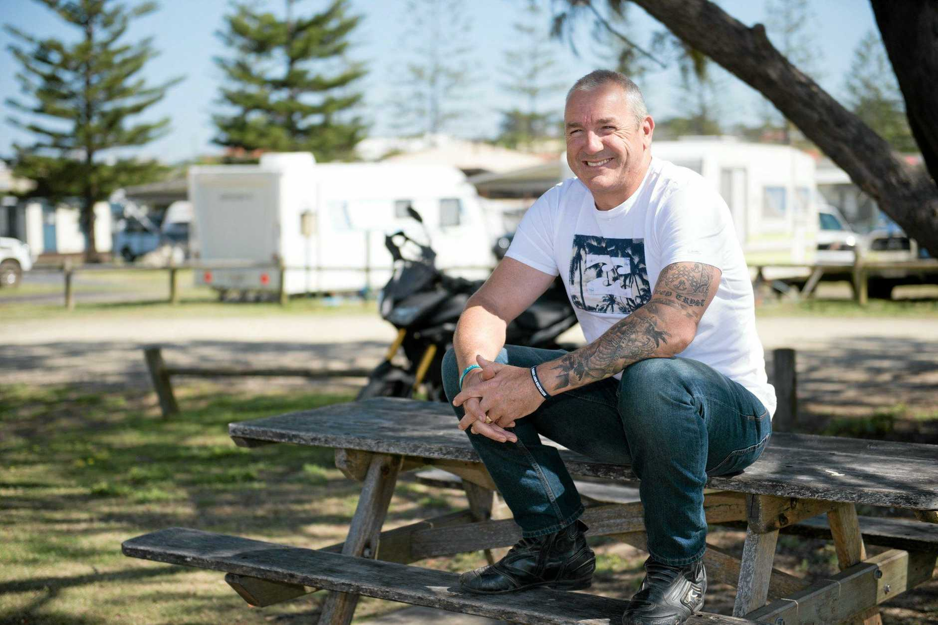 ON THE MEND: Former detective Craig Semple is speaking out about his battle with PTSD and depression in a bid to help others.