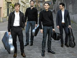 Quartet pulling all the right strings