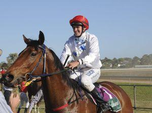 Winning jockey talks about Billy Goat