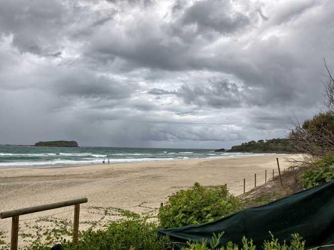 Fingal Beach, Marine Parade. Photo: Nolan Verheij-Full / Tweed Daily News
