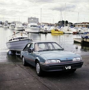 The 1986 VL Commodore. Photo: Contributed