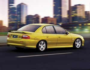 The 2000 VX Commodore. Photo: Contributed