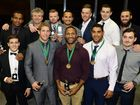 Ipswich Jets presentation dinner. Ipswich Jets medal winners. Photo: Rob Williams