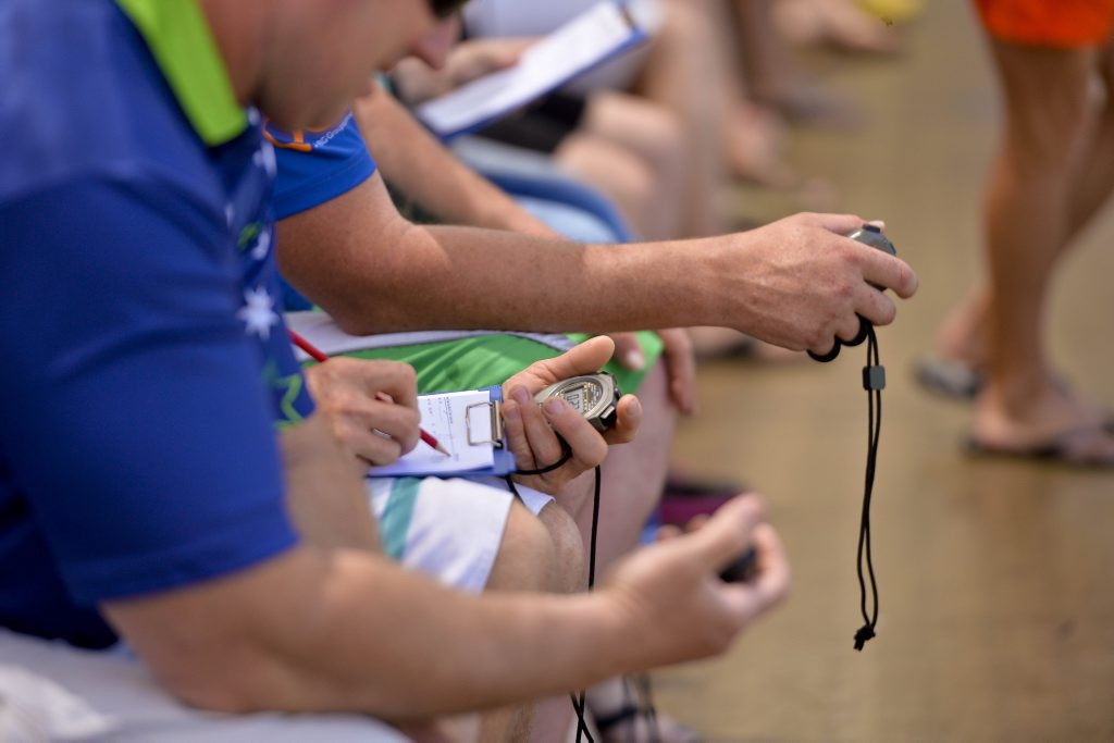 Timekeepers were hard-pressed to keep track of PBs at the weekend swimming event.