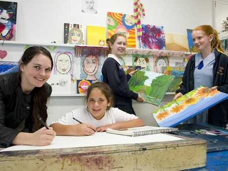 Your kids will have a ball learning about art at Toowoomba Art Society's children's classes.