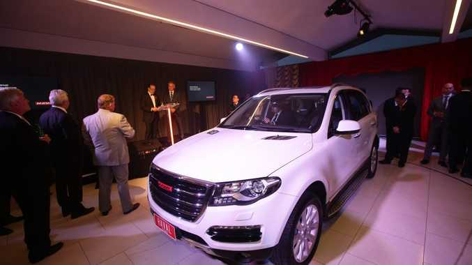 CHINESE ARRIVAL: The premium SUV brand was launched at a Melbourne event, with the company saying it had four dealerships in place already, and hopes for 10 by the end of the year.