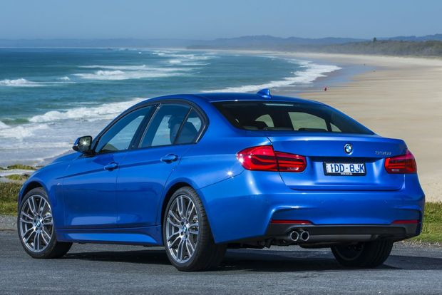 BEST SELLER: BMW expects the 330i with its 185kW/350Nm 2.0-litre twin-turbo four-cylinder to be the range's top seller.