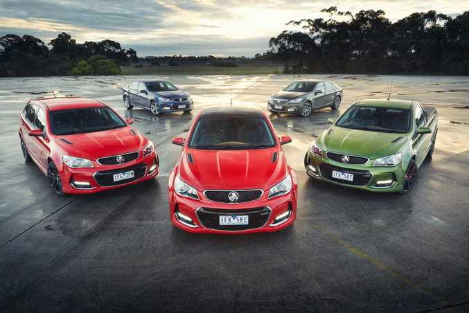 LONG RANGE: Commodore VFII comes in many forms, with all V8 models available with the 6.2-litre LS3 monster.