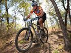 Mountain bike rider Andrew Dunn in the Rocky MTB Club 4hour XC. Photo Allan Reinikka / The Morning Bulletin