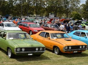 Fords, Holdens, Chryslers and hot rods in Casino