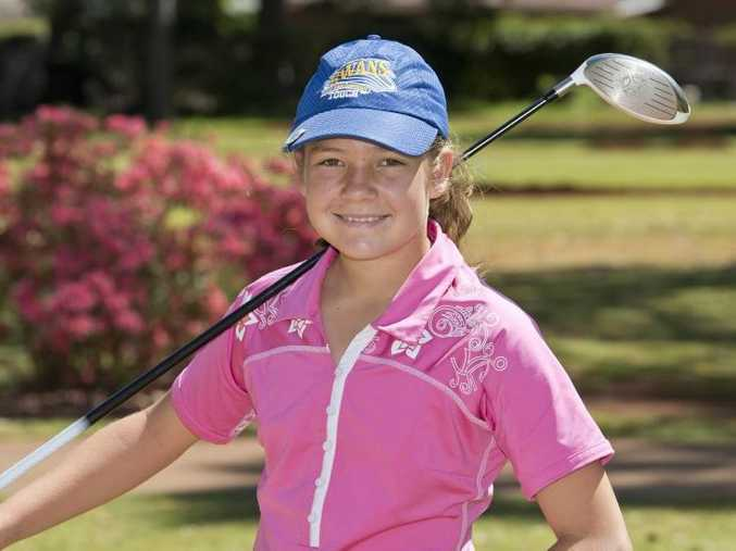 Kamryn Dunemann has represented Darling Downs in golf, touch football, and rugby league this year.