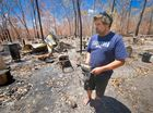 Rod Sorrenson lost everything in a fire at Lowmead.