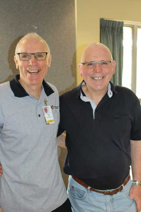 Keith Smith with his brother Clive Smith. Photo Contributed