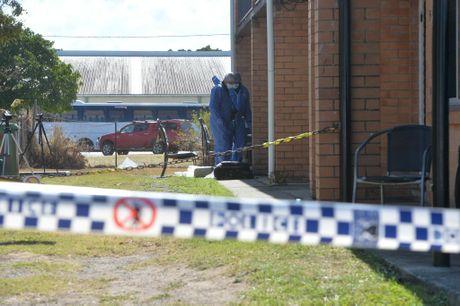 Scene of a murder in North Mackay. Photo Tony Martin / Daily Mercury
