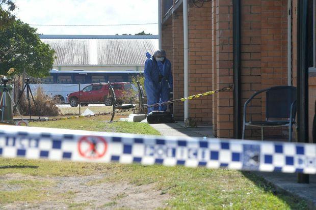 Scene of a murder in North Mackay