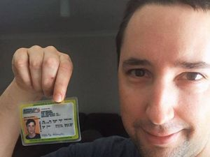Lost... and found 17 years later - surfer's licence returned