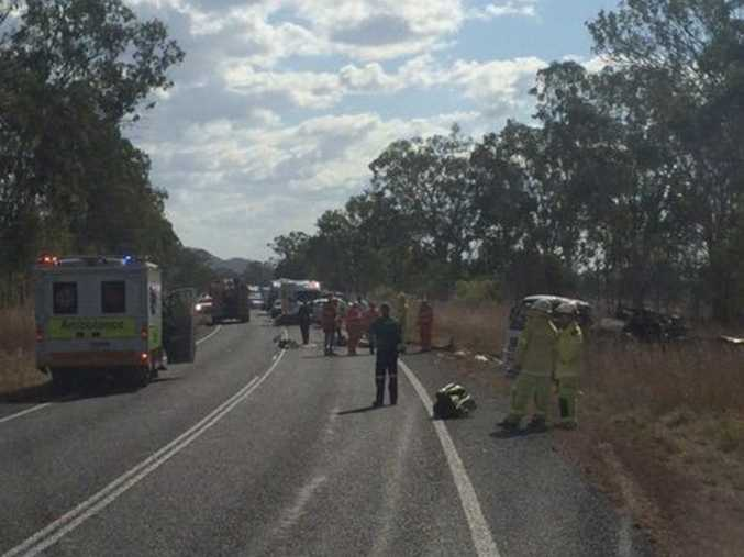 Double fatality crash on the Bruce Highway