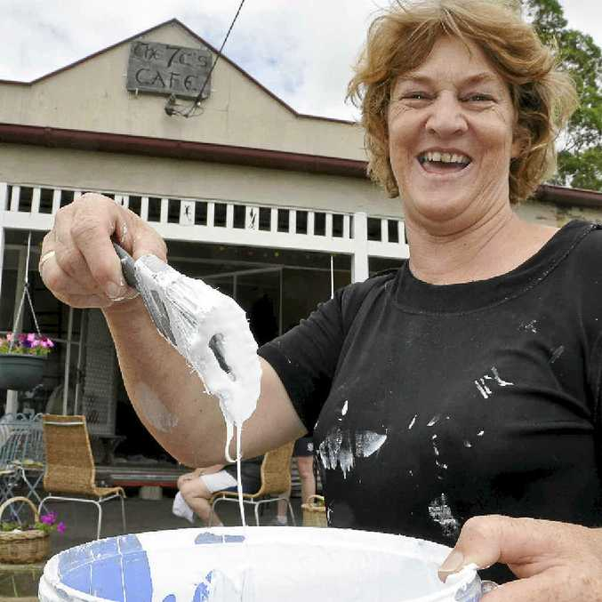 BLACK DAY: Christine Blackmore has been jailed for fraud-related charges after she dishonestly claimed more than $142,000 in flood relief to fix her home and business in Grantham.