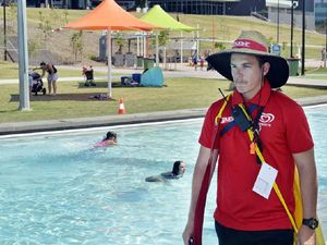 Lifeguards send strong message after near-drownings