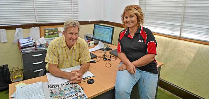 NEW EDITOR: Jamie Brown takes the seat to steer the Richmond River Express Examiner into the future as Samantha Elley moves on to the Northern Star to become Digital Producer.
