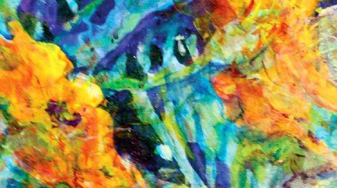 CORAKI ART PRIZE: 'Mum's Garden' by Jay Foley, 2012.