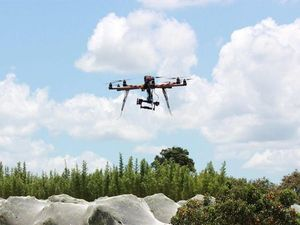 Drones near bushfires not so fine