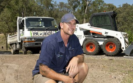 Mr Brooks has worked in earthmoving since he was 15 years old.