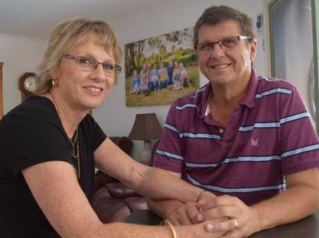 Kim Stokes and his wife Linda.
