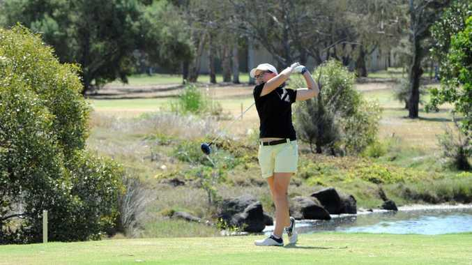 WOMEN'S GOLF: Ash McCourt competing in the Bargara Ladies Classic on Wednesday, 14 October 2015. Photo: Max Fleet / NewsMail
