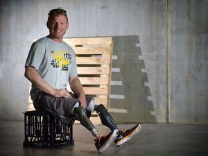 """I had to lose my legs before I could kick my drug habit"""