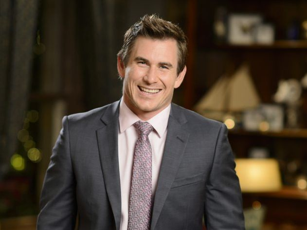 The Bachelorette contestant Dave Billsborrow.